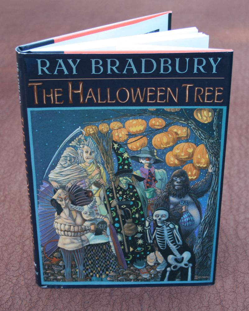 journeyleaf: life a page at a time - the halloween tree